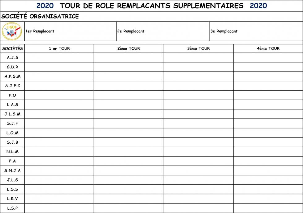 Remplacants supplementaires 5